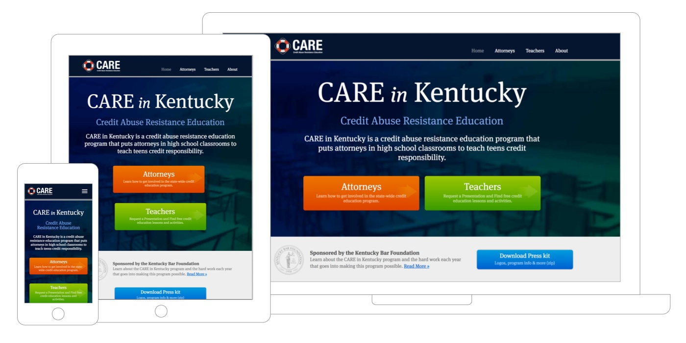 CARE website