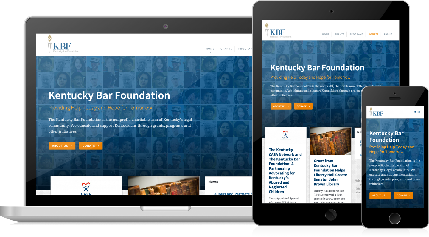 Kentucky Bar Foundation homepage